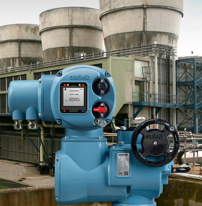 Centork CK actuators facilitate reliable automation of valve types and sizes typically found in the power generation industry